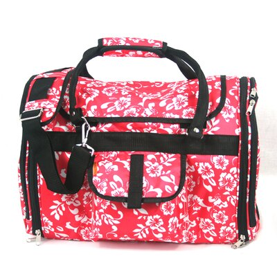 Prefer Pets Covered Pet Carrier in Hawaiian Flower at Sears.com