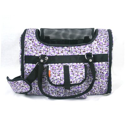 Prefer Pets Pet Carrier in Purple Mosaic at Sears.com