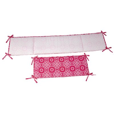 NoJo Butterfly Bouquet Traditional Padded Bumper 7342002