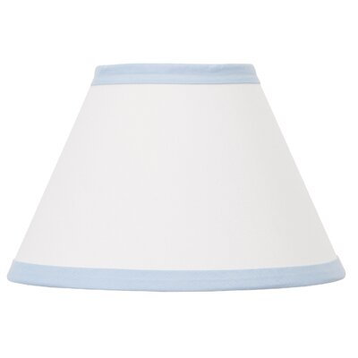 Dreamer 8 Fabric Bell Lamp Shade Color: Blue