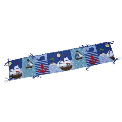 NoJo Baby Buccaneer Traditional Padded Bumper 6668002