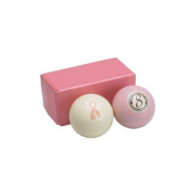 Action Billiard Balls Pink Set - Cue Ball and 8 Ball at Sears.com