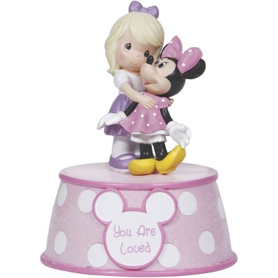 """�You are Loved"""" Resin Music Box, Girl Figurine 132106"""