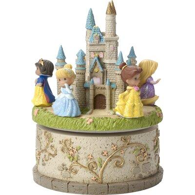 Disney Showcase Princess Castle Resin LED Decorative Box 164102