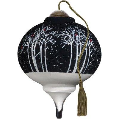 Ne'Qwa Petite Let it Snow Marquis Shaped Ornament 7171184
