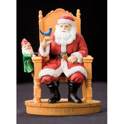 "Sweden"" Sweden Santa Figurine"