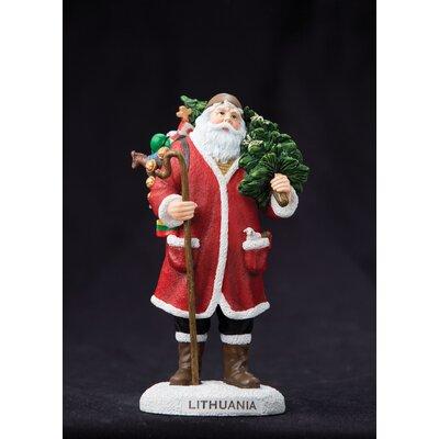 """Lithuania"""" Lithuania Santa Figurine"""