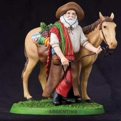 """Argentina"""" Argentina Santa Figurine"""