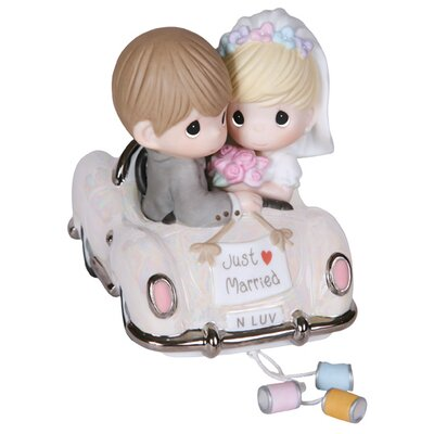 "Just Married"" Wedding Figurine"
