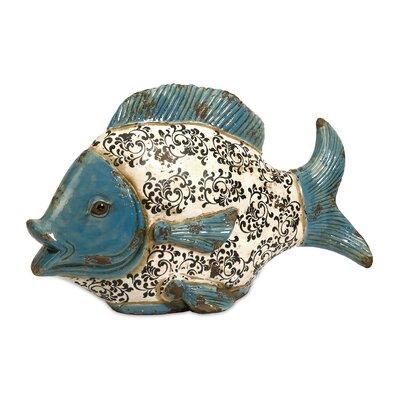 Bates Ceramic Fish Figurine 50305