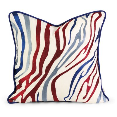 IK Bahari Linen Throw Pillow Color: Multi