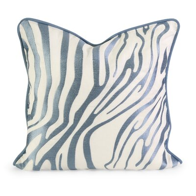 IK Bahari Linen Throw Pillow Color: Light Blue