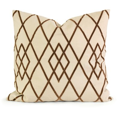 IK Linen Throw Pillow Color: Brown