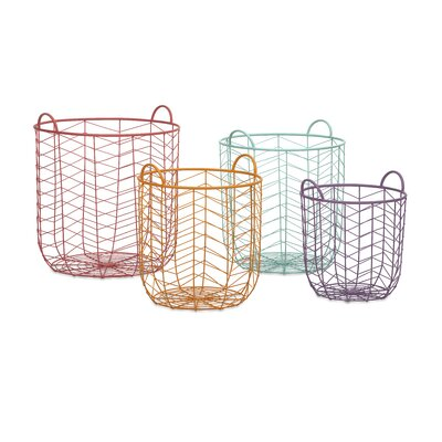Imax Maya 4 Piece Metal Baskets Set at Sears.com