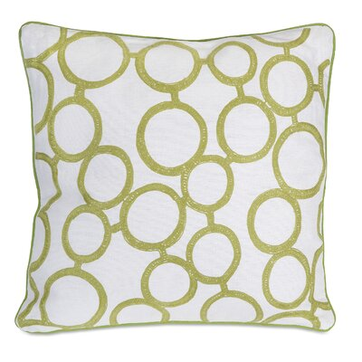 Rings Cotton Throw Pillow
