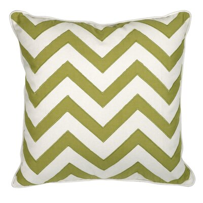 Essentials Cotton Throw Pillow Color: Green Apple