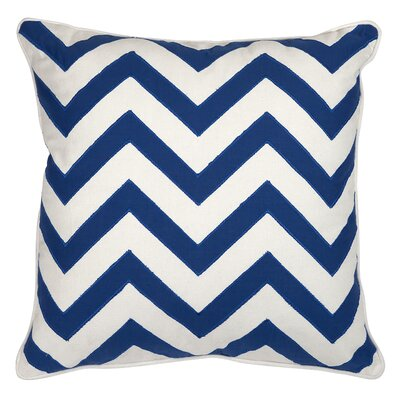 Essentials Cotton Throw Pillow Color: Marine Blue