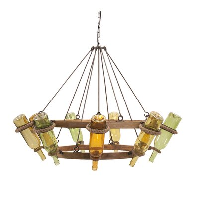 Wine 6-Lights Mini Chandelier