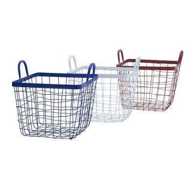 Breakwater Bay Wire Basket