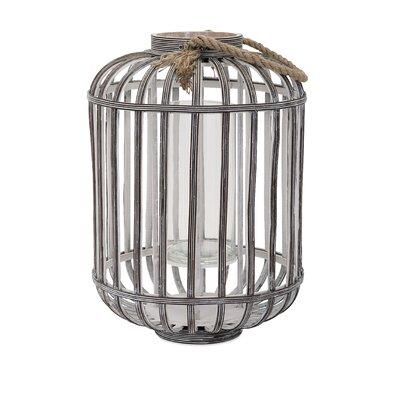 Jate Wood Lantern Size: 19.25 H x 13.75 W x 13.75 D