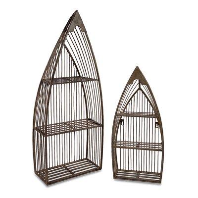 2 Piece Nesting Boat Shelf Set