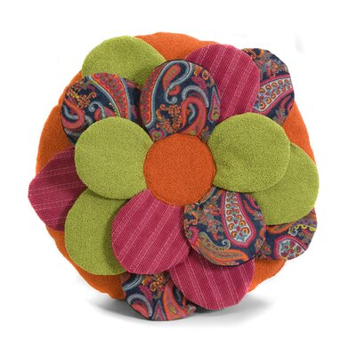 Estelle Multi Flower Throw Pillow