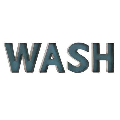 Wash Metal Wall Décor