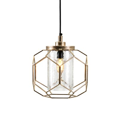 Brouillette 1-Light Mini Pendant Size: 14.25 H x 14.25 W x 14.25 D