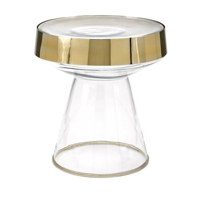 Rosner Glass Tray Table