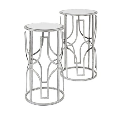 Rousey Mirror 2 Piece Nesting Tables