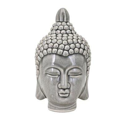 Presley Ceramic Buddha Head Bust BLMK4116 44254584