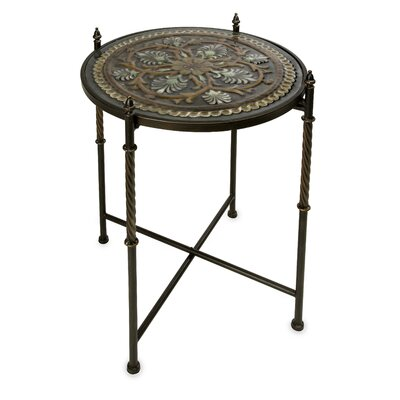 In store financing Medallion Glass Top Table...