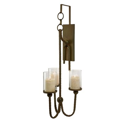 Ambiente Wrought Iron Handmade Wall Sconces (Set of 2) | Wayfair