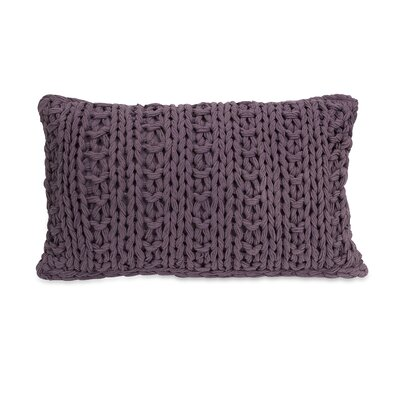 Mailie Crochet Cotton Lumbar Pillow