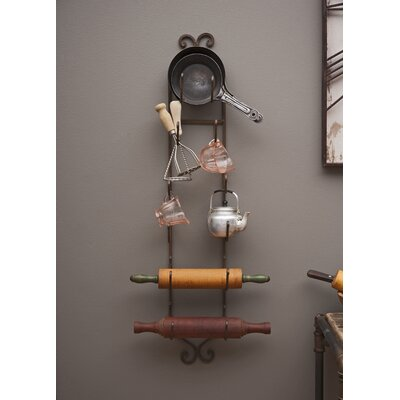 Vallauris 6 Bottle Wall Mounted Wine Rack