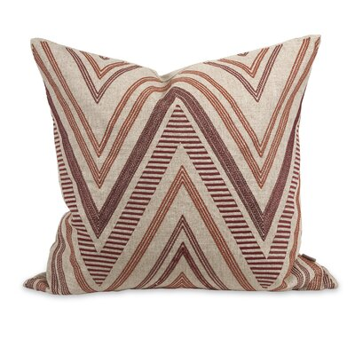 IK Kamaria Embroidered Linen Throw Pillow