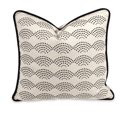 IK Ledux Cotton Throw Pillow