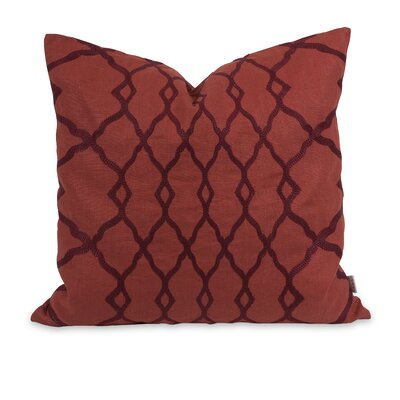 IK Dyani Embroidered Cotton Throw Pillow