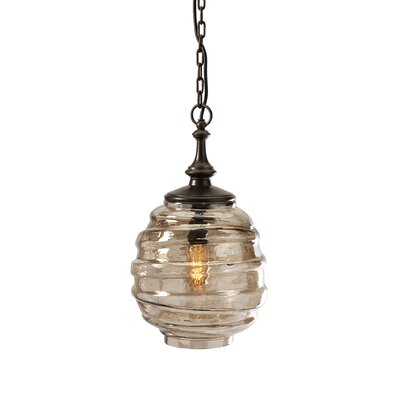 Percy Glass 1-Light Pendant