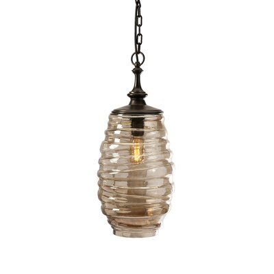Riva Glass 1-Light Pendant