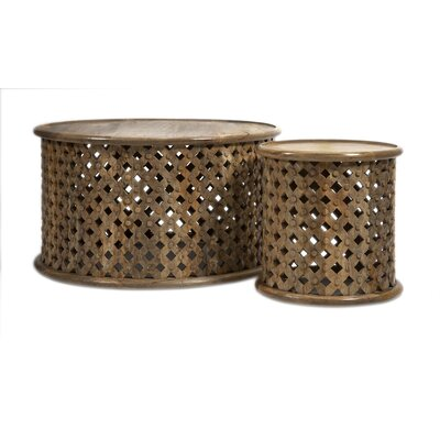 Abdalla 2 Piece Coffee Table Set