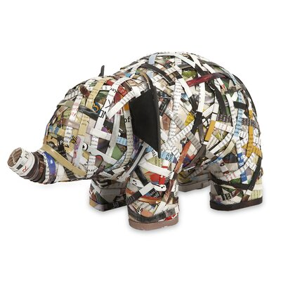 Imax Imar Recycled Magazine Elephant at Sears.com