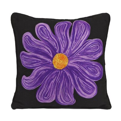 Bloom Cotton Throw Pillow