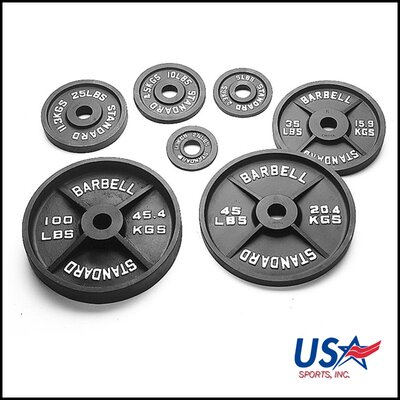 Easy financing 25 lbs Olympic Plate in Black...
