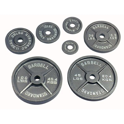 USA Sports by Troy Barbell 25 lbs Olympic Plate in Gray at Sears.com