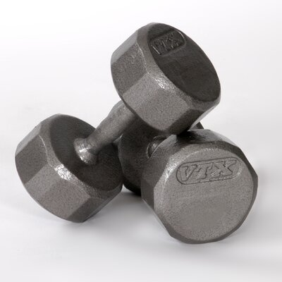 No credit financing 12-Sided Cast Dumbbell Size : 35 lb...