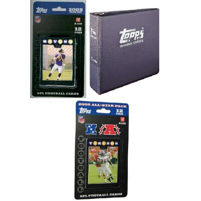 NFL 2008 Trading Card Gift Set - Baltimore Ravens