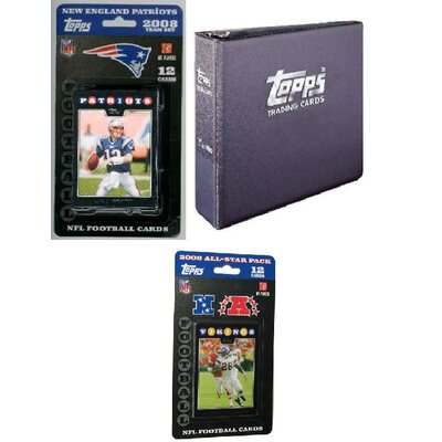 NFL 2008 Trading Card Gift Set - New England Patriots
