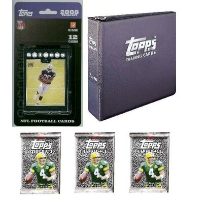 NFL 2008 Trading Card Gift Set - Oakland Raiders