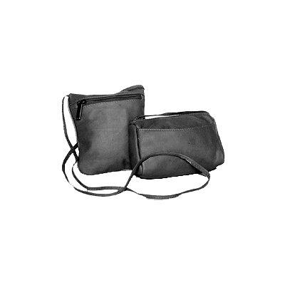 David King Horiztonal Top Zip Mini Cross-Body Bag - Color: Black at Sears.com